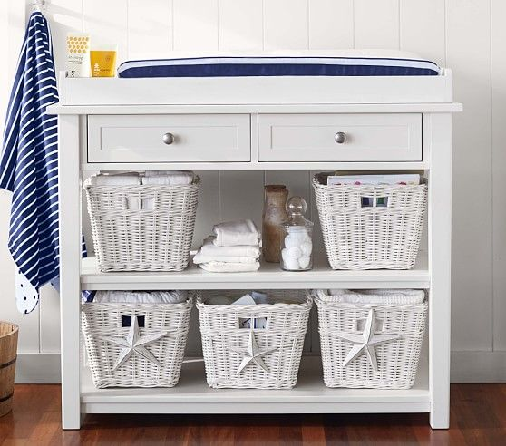 Universal Changing Table & Topper Set | Pottery Barn Kids | Baby ...