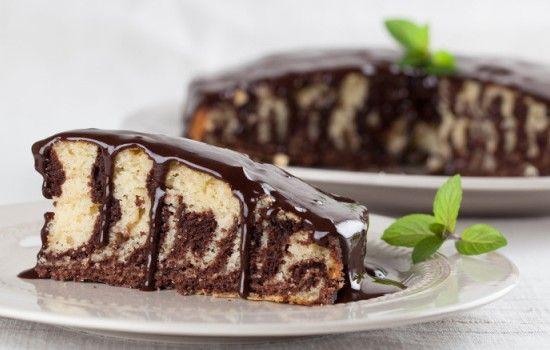 Торт «Зебра» на кефире: рецепты и секреты приготовления ...