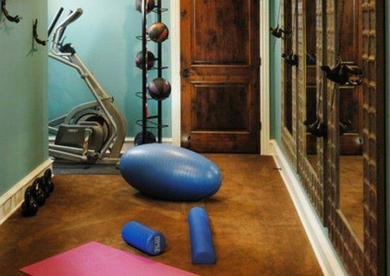 Heim Fitnessstudio design ideen tipps fitnessstudio hause innenarchitektur schönes