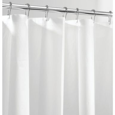 Long Peva Shower Curtain Liner For Bath 72 X 84 Pack Of 2