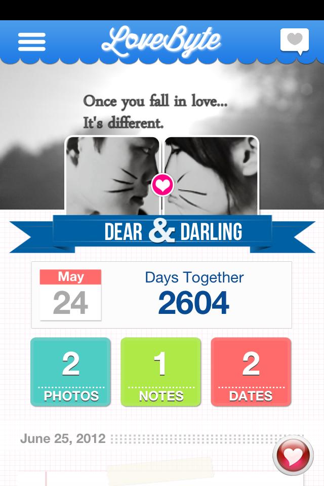 Lovebyte app