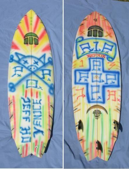 Jeff Ho Zephyr Surfboard Con Immagini
