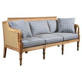 Handmade Indoor Outdoor Teak Wood Sofa With Woven Side Panels Product Sofaconstruction Material Teak And Resincolor Natur Outdoor Sofa Furniture Teak Sofa