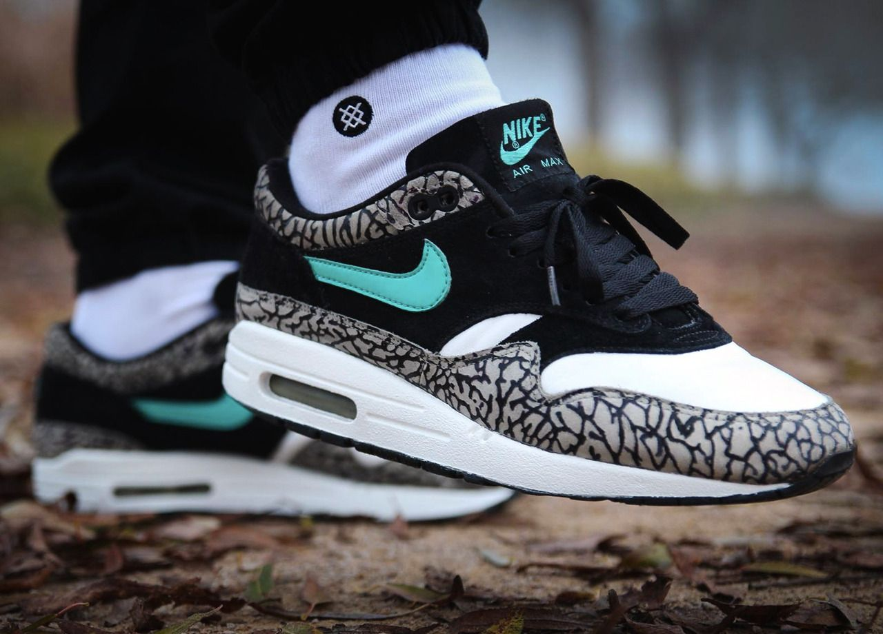 sports shoes 2f049 1b1cb Nike Air Max 1 'Atmos Elephant' - 2007 (by npwls_) Pack and travel with  shoe trees by Sole Trees #Sneakers #ShoeTrees #SoleTrees  #ShoeTreesForSneakers