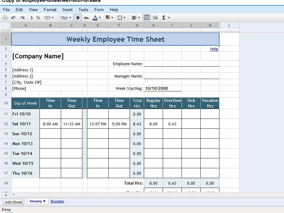 how to make a worksheet in google docs