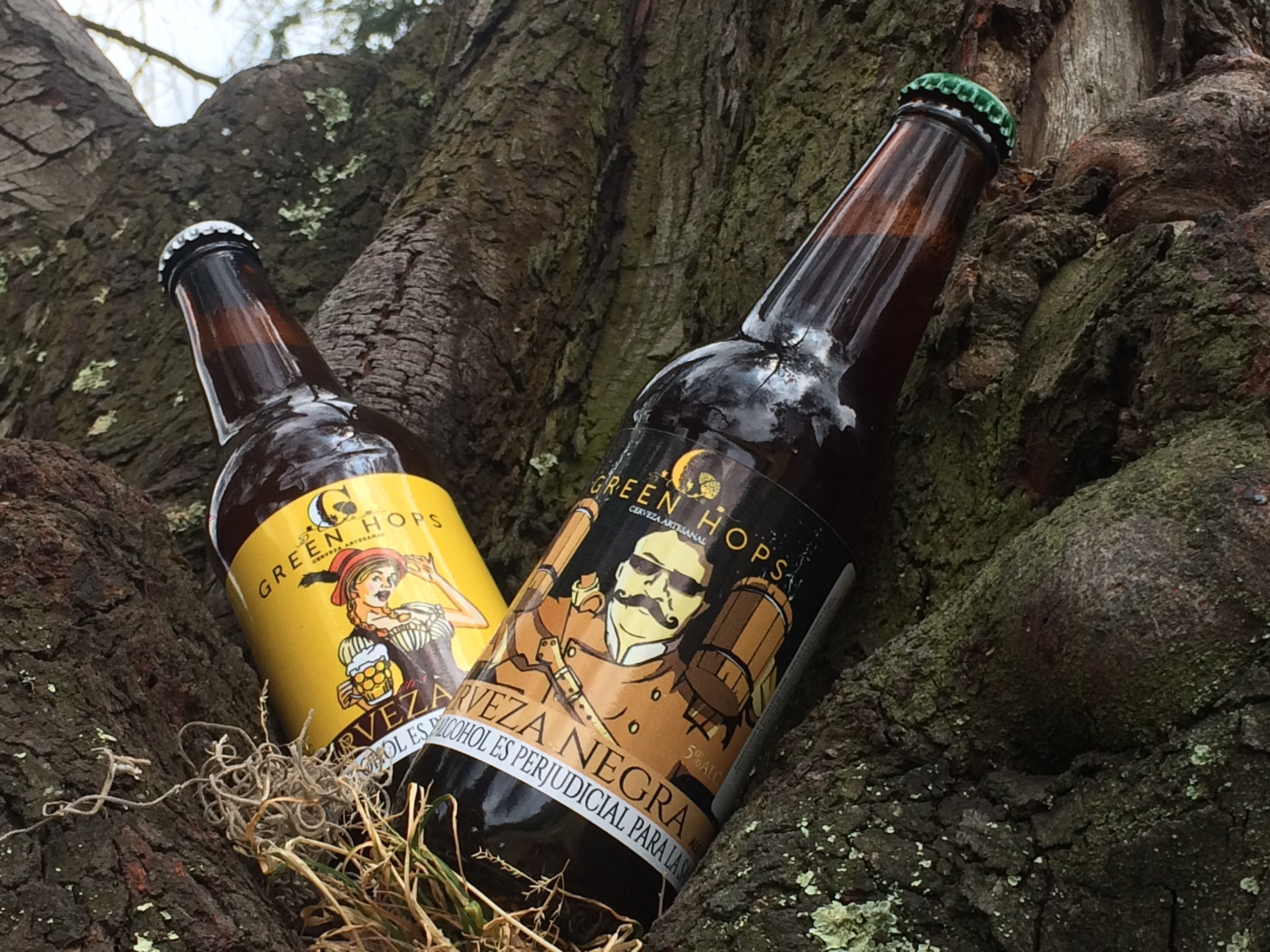 Idea De Green Hops Beer En Green Hops Beer Cerveza Artesanal