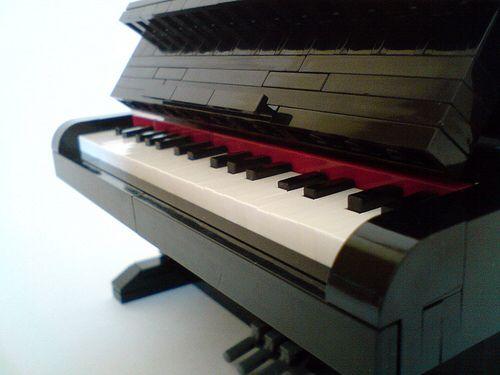 Closeshot of the keys