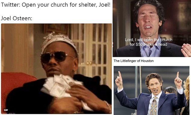 Hilarious Joel Osteen Memes Dave Chappell Pinterest Joel