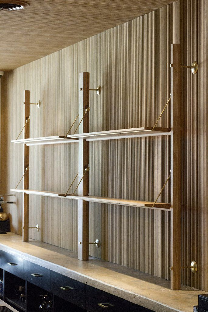 Lonewa Custom Shelving System Like By Dia Art Travel Artribute Diaism Tjann Tjantek Art Space Acquire System Furniture Custom Shelving Furniture Design Modern