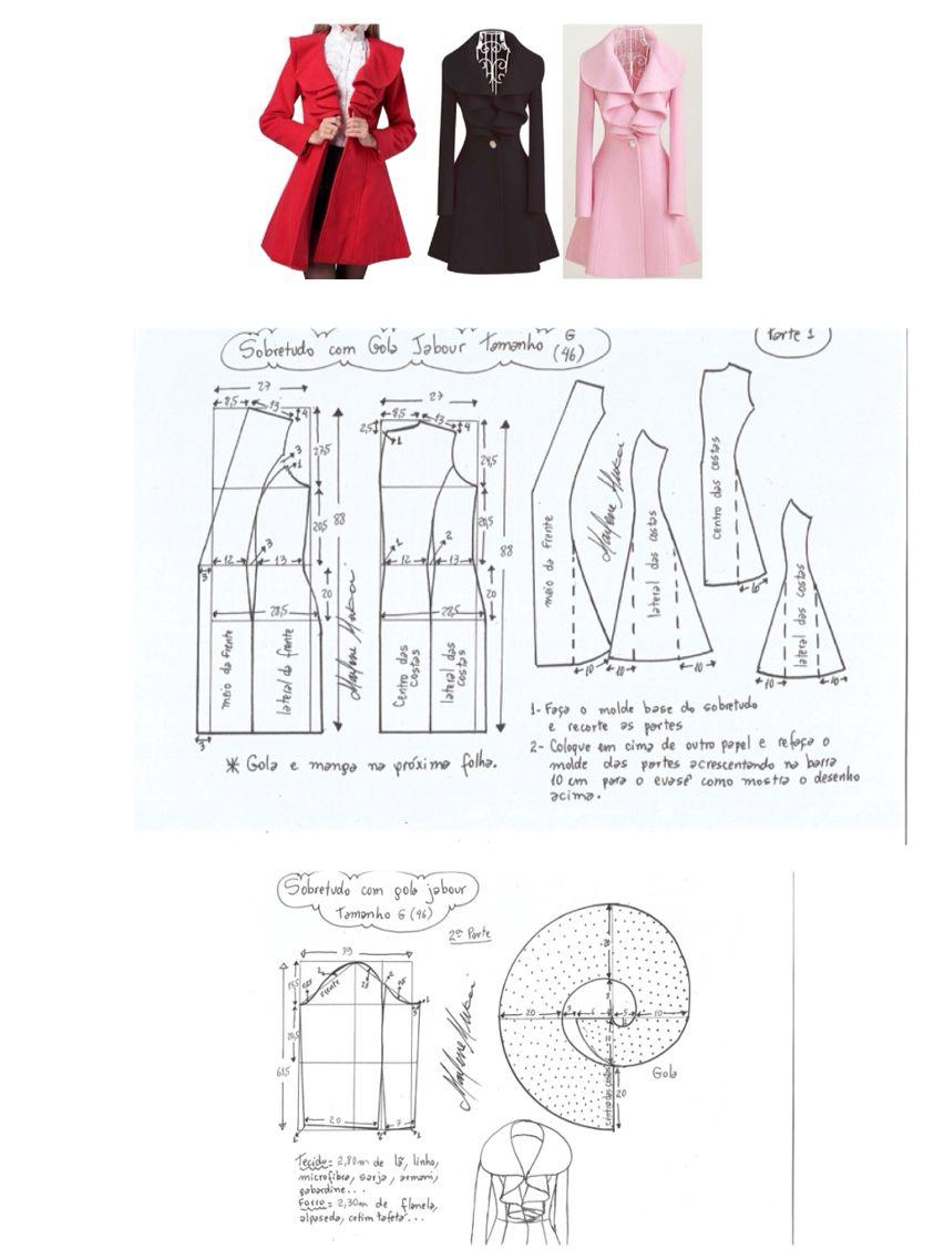 Pin de Barbarella - Blog en Modelagens   Pinterest   Costura, Molde ...