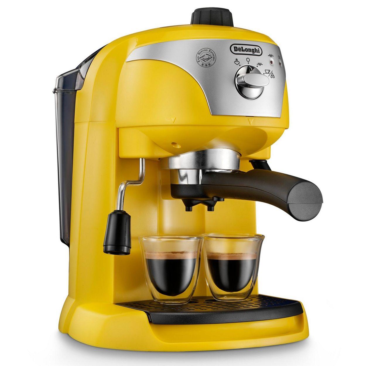 DeLonghi Delonghi yellow 'Motivo' ECC220.Y espresso coffee