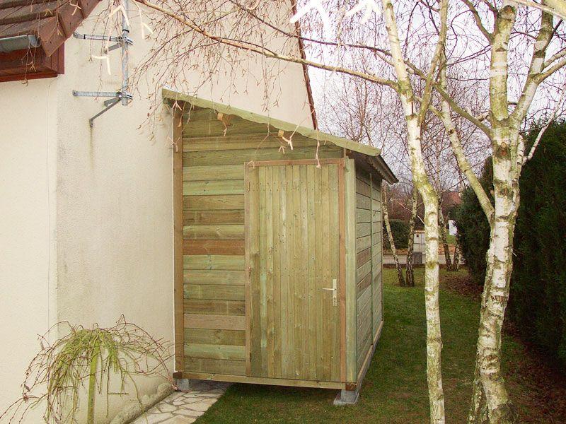 Abri Bois Gamme HIRONDELLE  Abri de jardins en bois - Abri La - construire un cabanon de jardin en bois