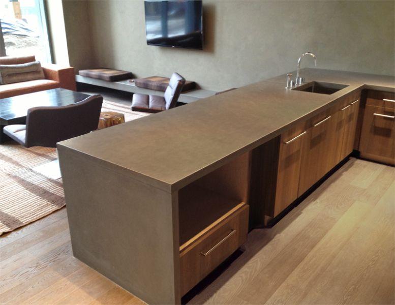 concreto madera cocinas salpicaderos - Buscar con Google | Cocina ...