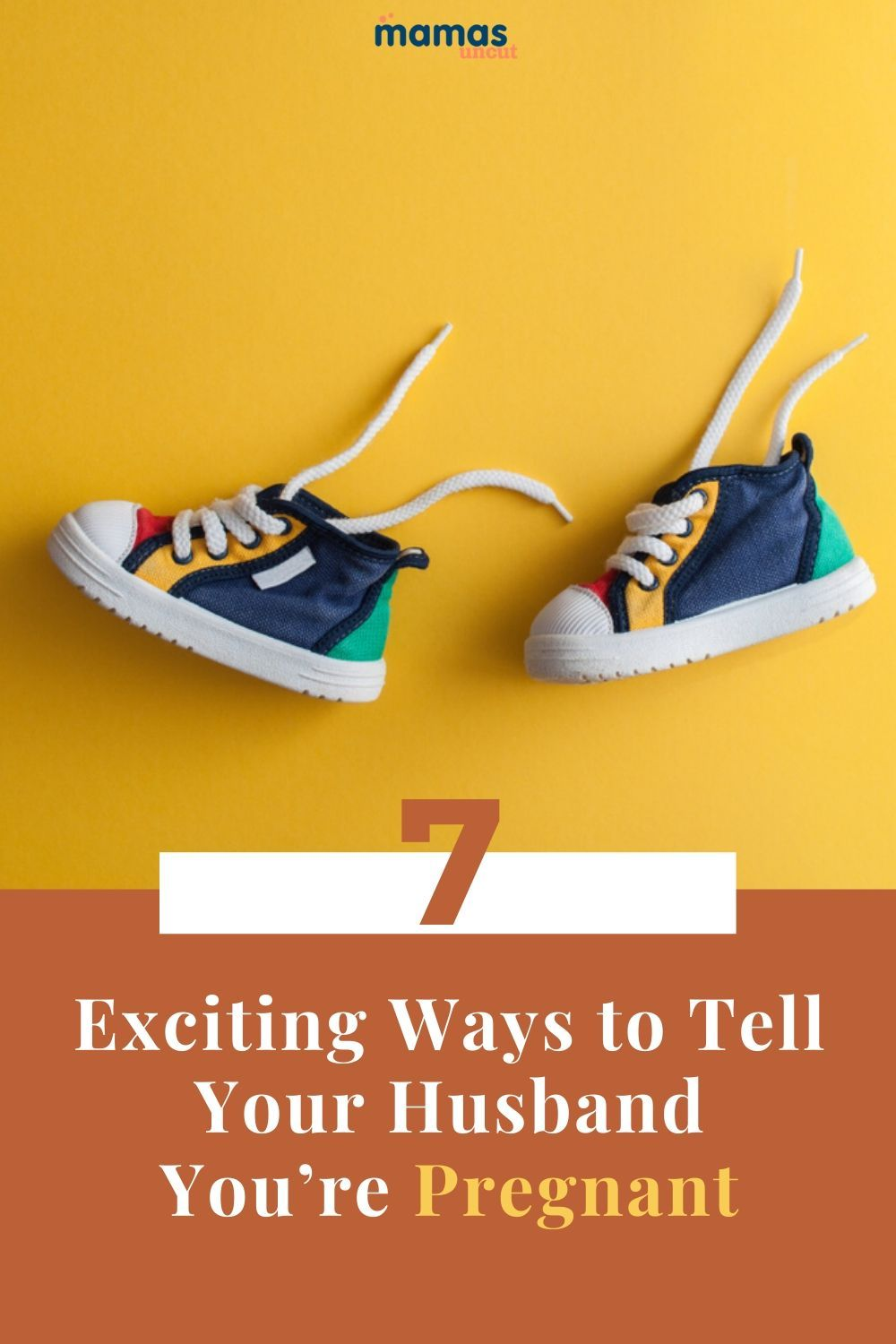 7 Creative Ways to Tell Your Husband You're Pregnant  Finding new and funny ways to tell your husband you're pregnant can be a challenge, but it's not impossible. Don't overthink it and have fun with the reveal!  #preganancy #relationshipadvice #babies