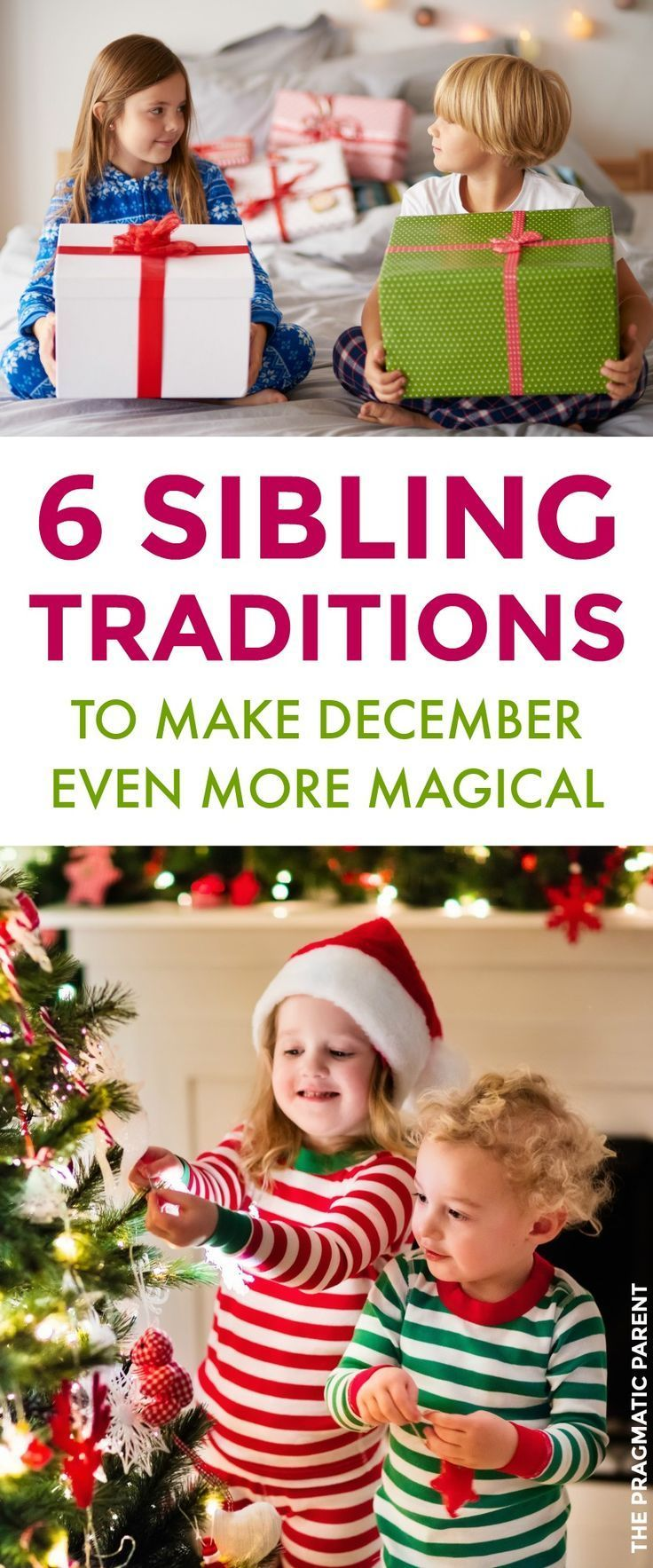 sibling christmas traditions kids will delight in the excitement of the holidays together make