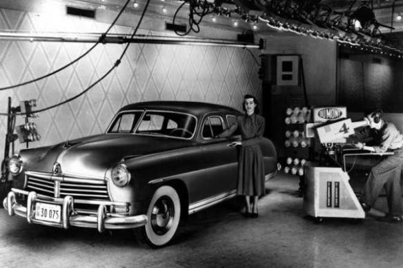 1948 Hudson studio