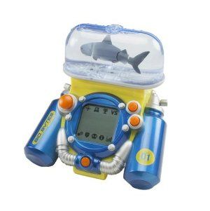 Bio Bytes Game Base Great White Blue By Jakks 29 95 Electronic Handheld Battling System That Lets You Fight Ferocious Cre Handheld Blue Gaming Products