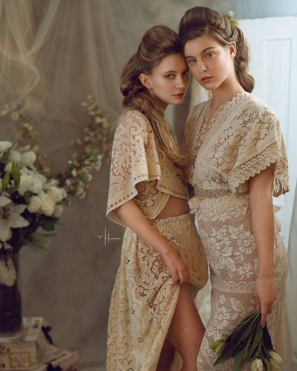 more from this shoot lovely romantic styled portraits want