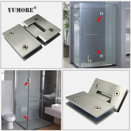 Pin By Yumore Hardware Manufacturer On Glass Hinges Glass Hinges Steel Shower Enclosure Glass Door Hinges