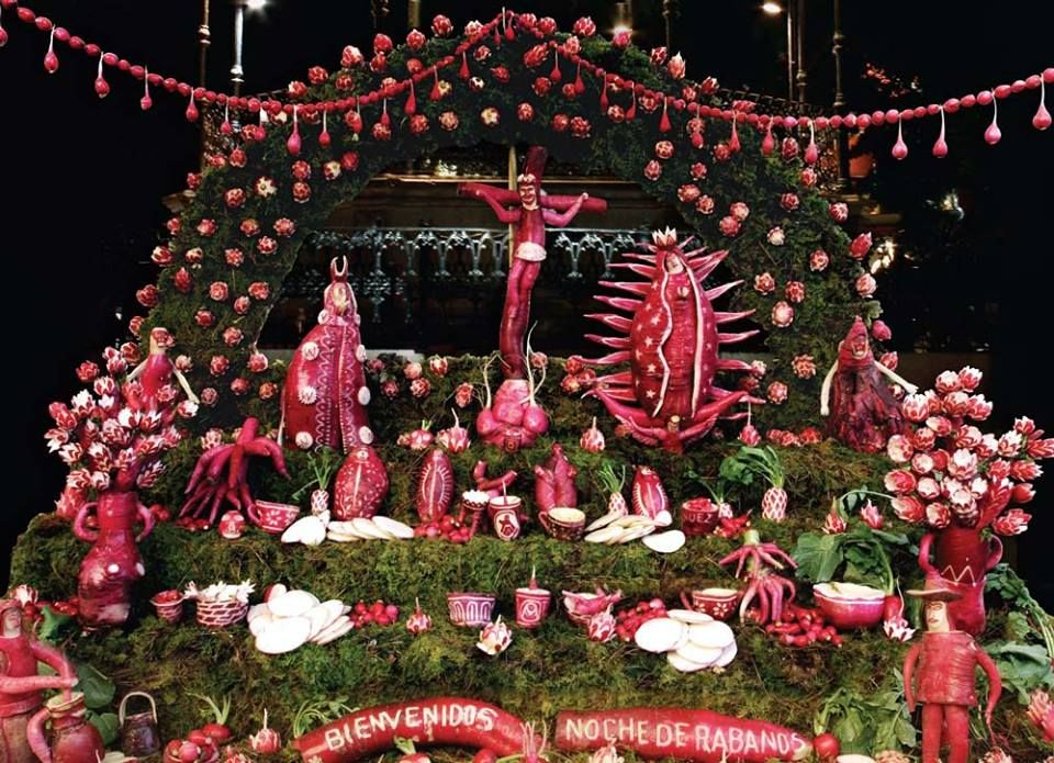 """""""Night of the Radishes"""" is a festival of parades, parties"""