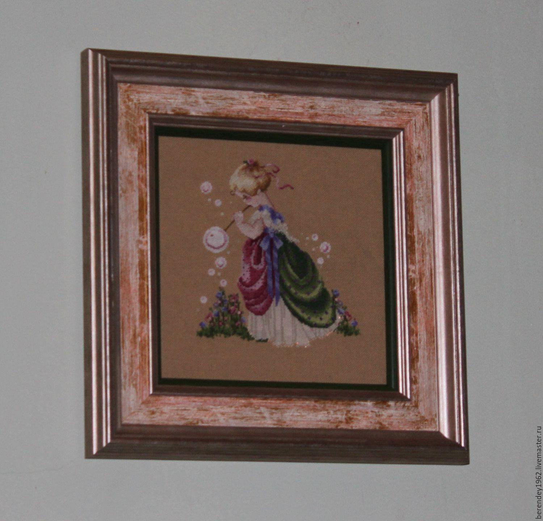 Подарок вышивка крестом картина