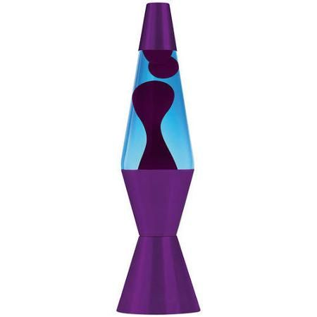 "Walmart Lava Lamp Prepossessing Lava Lite 17"" Mega Lava Lamp Purple Waxblue Liquidpurple Base Design Decoration"