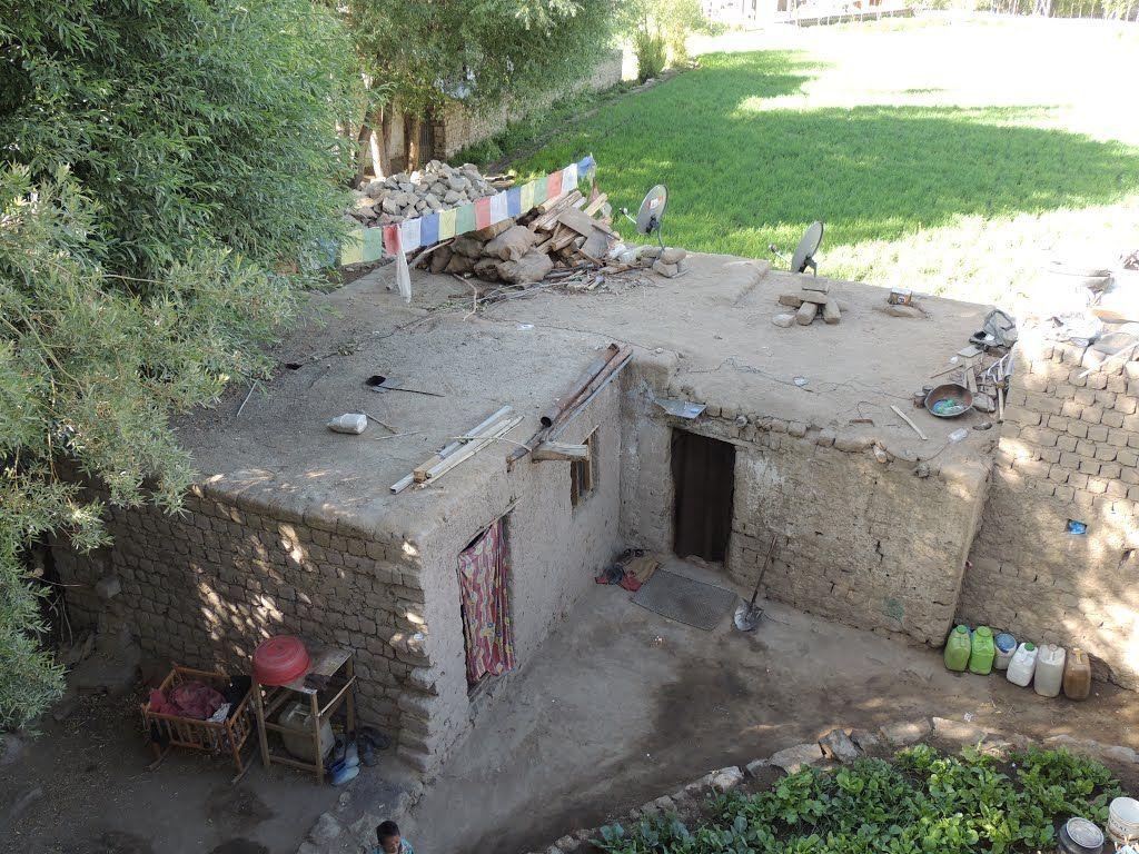 Maison traditionnelle ladakhi - Leh