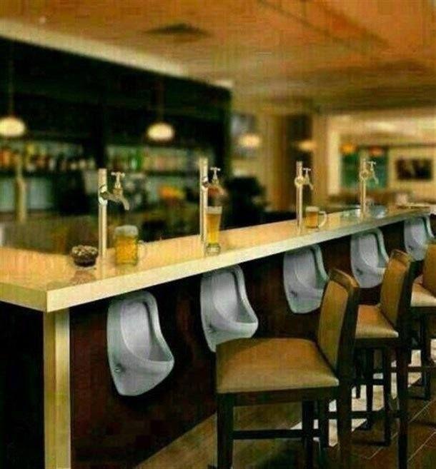 Bar funny