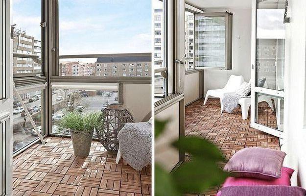 New life of old balcony