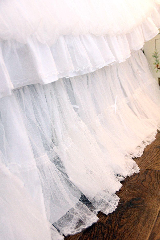 Adjustable Crib Skirt