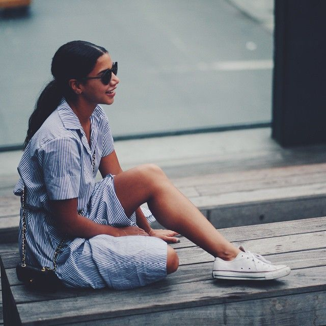 """Hannah Bronfman on Instagram: """"#outthere on the Highline @Carrera ..."""