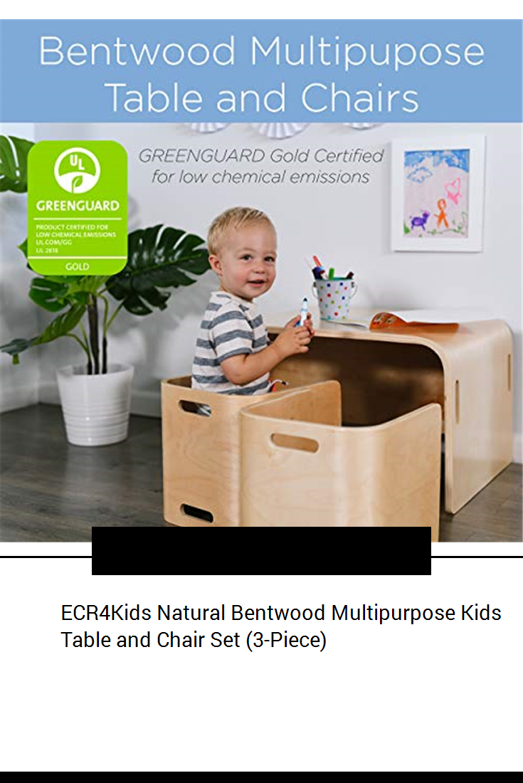 Pleasing Ecr4Kids Natural Bentwood Multipurpose Kids Table And Chair Beatyapartments Chair Design Images Beatyapartmentscom