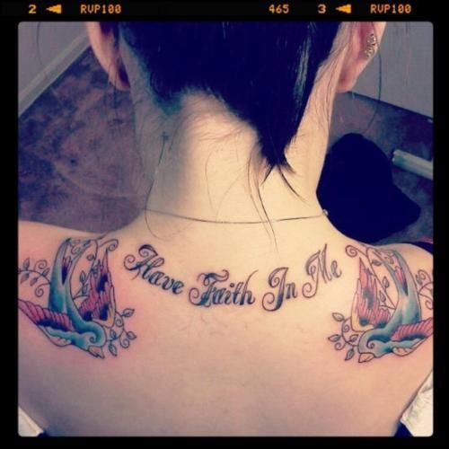 Have Faith In Me A Day To Remember Tattoo Remember Tattoo