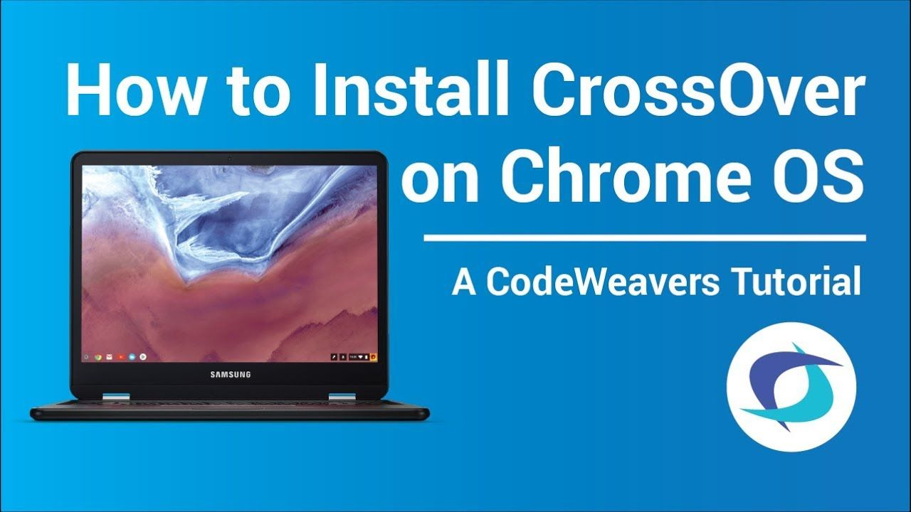 Run Windows Software on Chrome OS with CrossOver