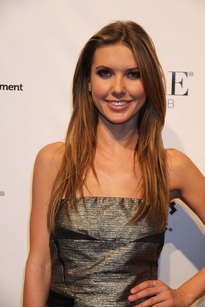 Audrina Patridges long layered hairstyle