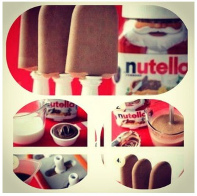 Selfmade Nutella ice gream :) #diy