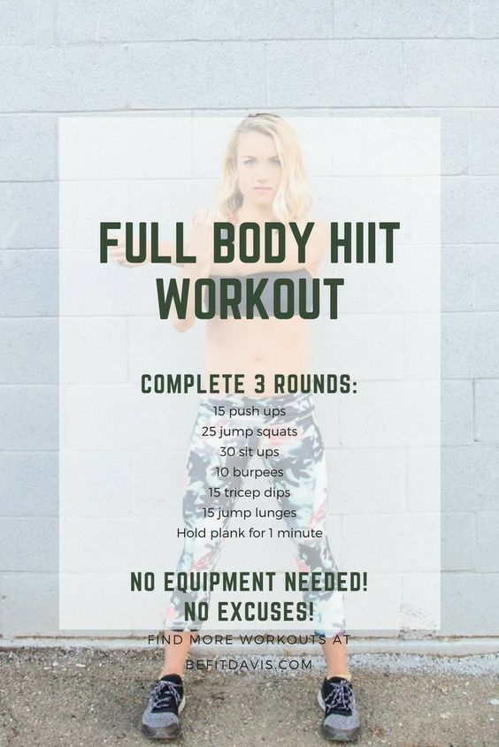 Photo of FULL BODY HIIT WORKOUT | Weight loss hiit workout routine for women to lose weight! No equipment!
