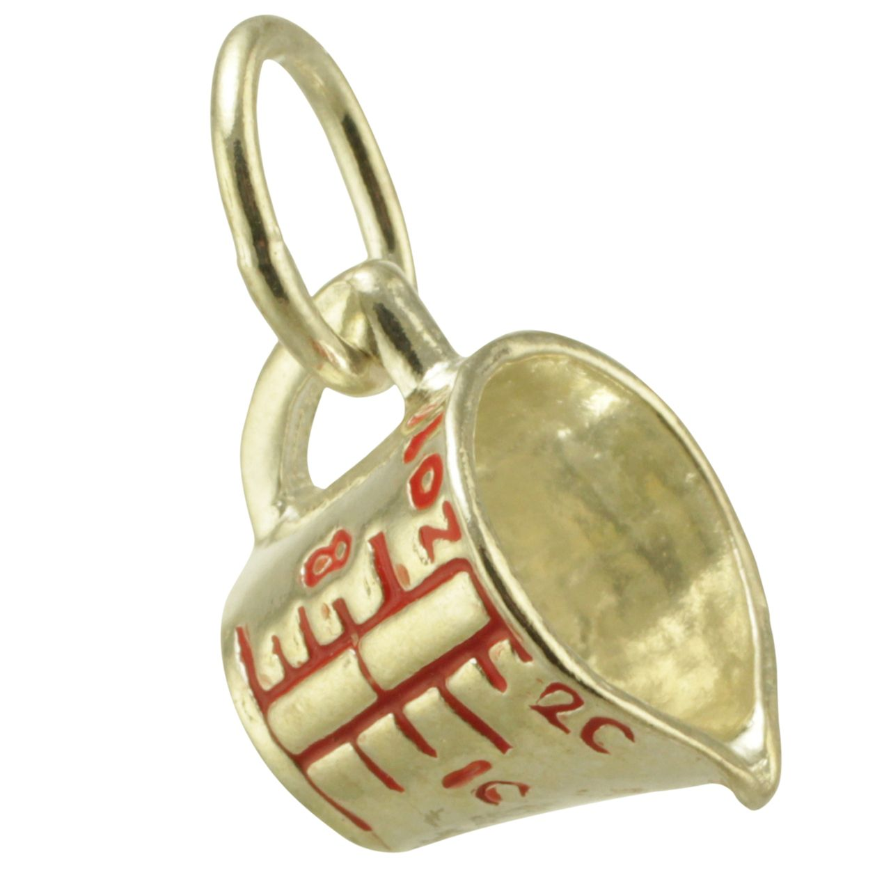 This is a picture of the sterling silver, measuring cup traditional charm. 385d6c5d3a