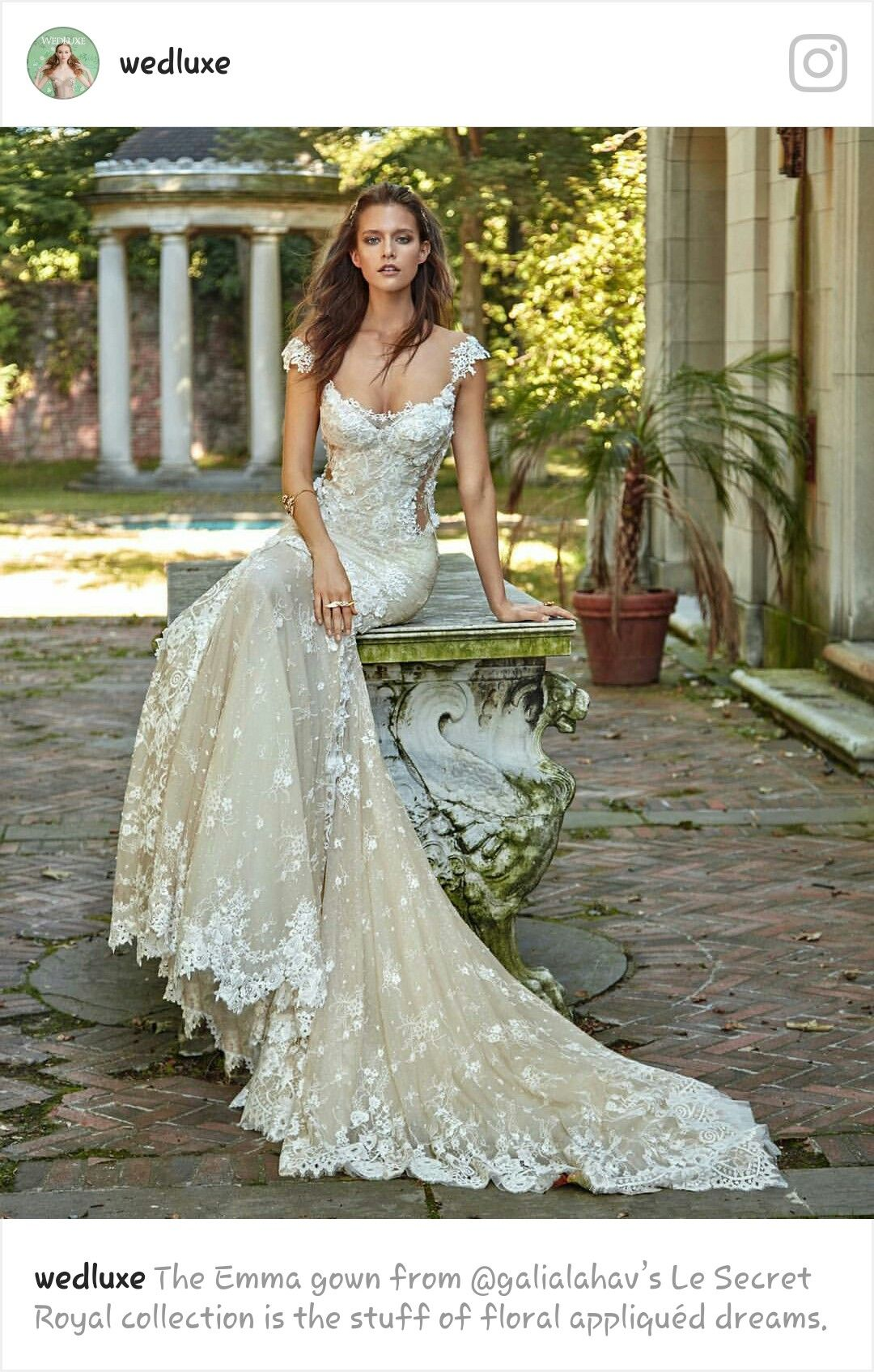 Wedding dress with color  Pin by sonia on ideias o nosso casamento  Pinterest
