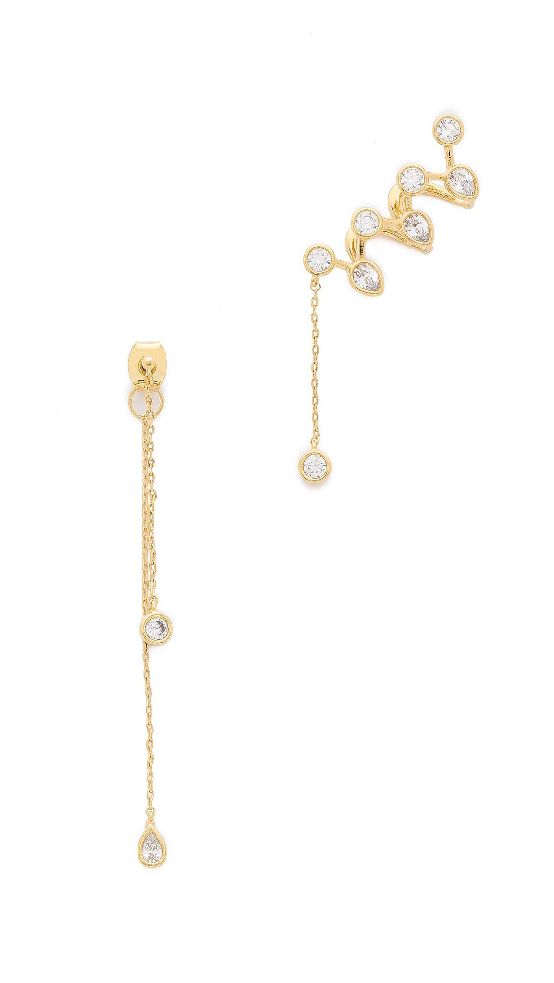 Noir Jewelry Ascella Earrings | SHOPBOP