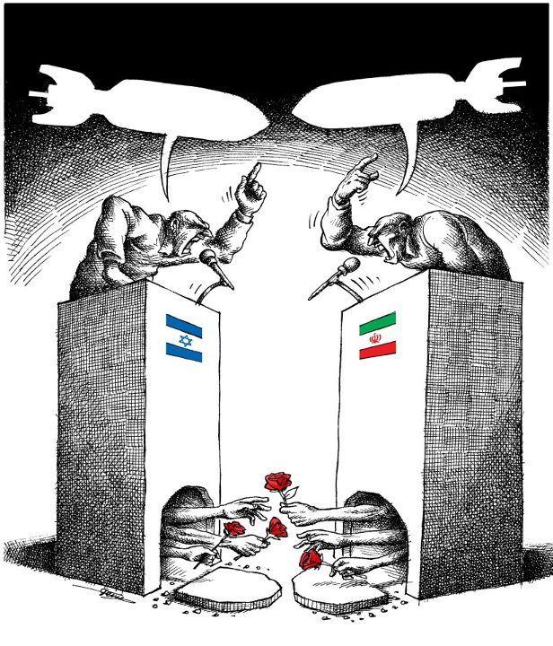 Very Powerful Political Cartoon