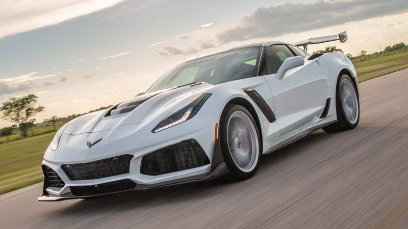 Hennessey Announces Corvette Zr1 With 1 200 Horsepower Chevy