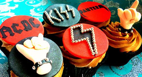 Hard Rock Kiss Ac Dc Metallica Best Cupcakes Ever