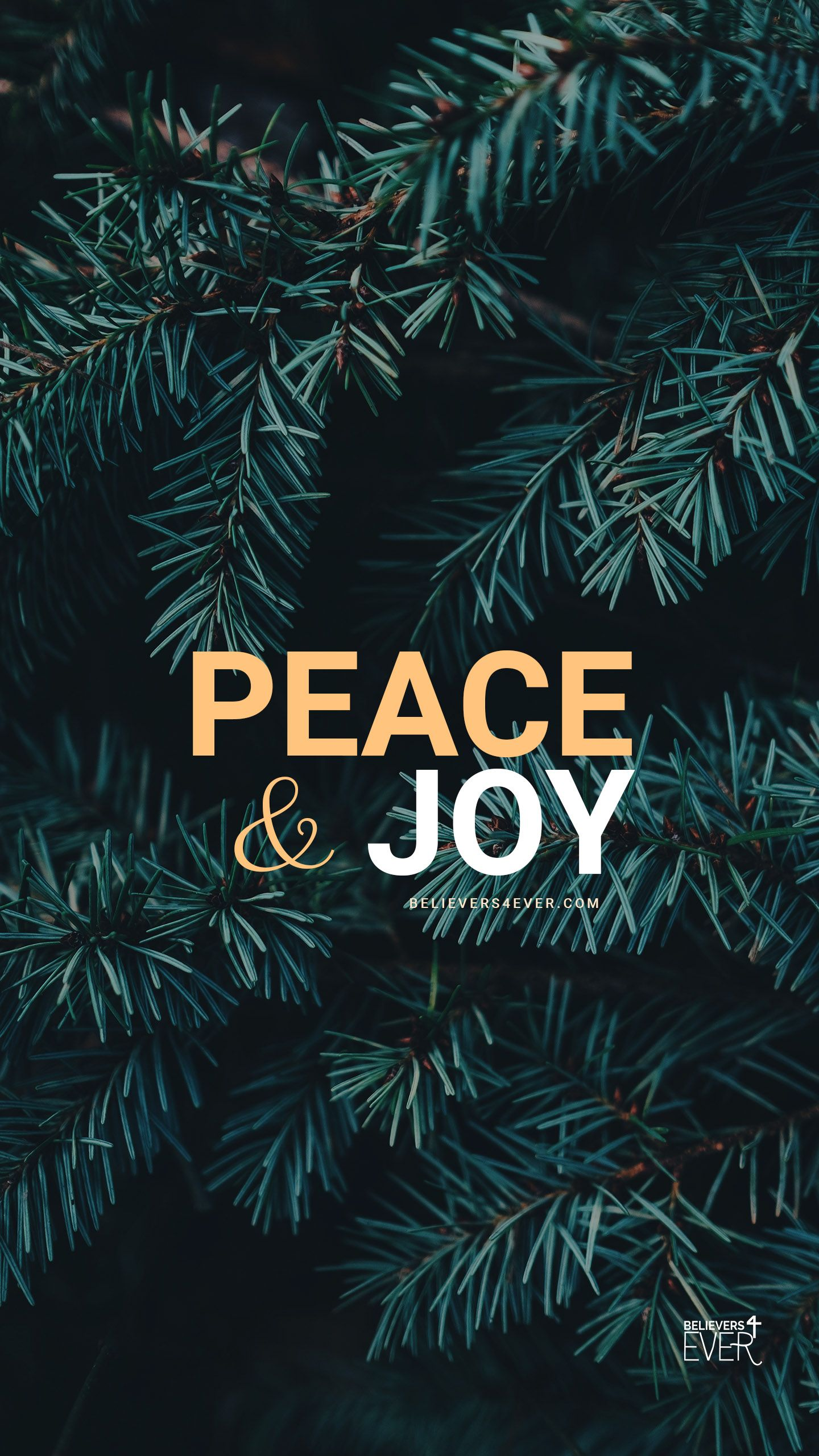 Peace and Joy | wallpaper | Christmas wallpaper, Scripture ...