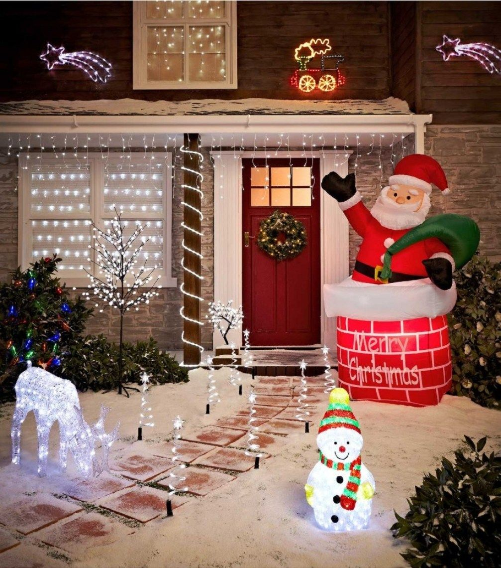 30 Cheap Diy Outdoor Christmas Decorations Best Inspiration Christmas Yard Decorations Outdoor Christmas Decorations Christmas Decorations Diy Outdoor