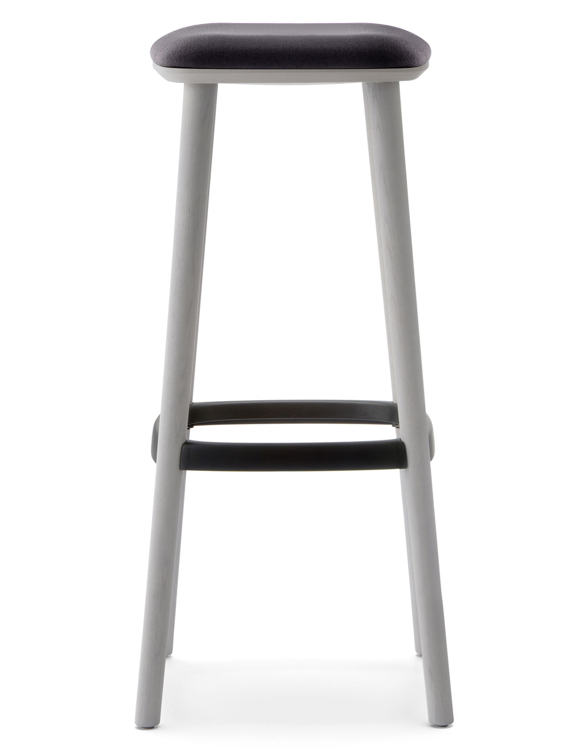 Ash Wood Barstool With An Extreme Lightweight Look Where The Die Casted Aluminium Footrest Is Perfectly Jointed To The Legs P Bar Stools Stool Wood Bar Stools