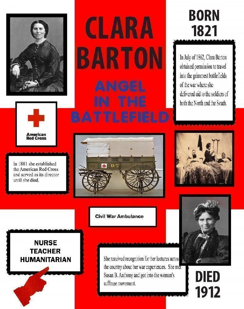 Make a poster about clara barton red cross poster ideas school make a poster about clara barton red cross poster ideas 1betcityfo Choice Image