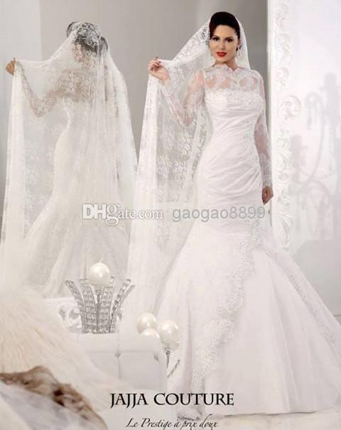 Wholesale Mermaid Wedding Dresses - Buy Jajja 2014 New Arbic India ...