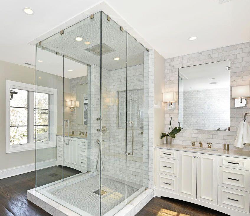 White Mold In Bathroom: French Limestone Home In Winnetka: $1.58M