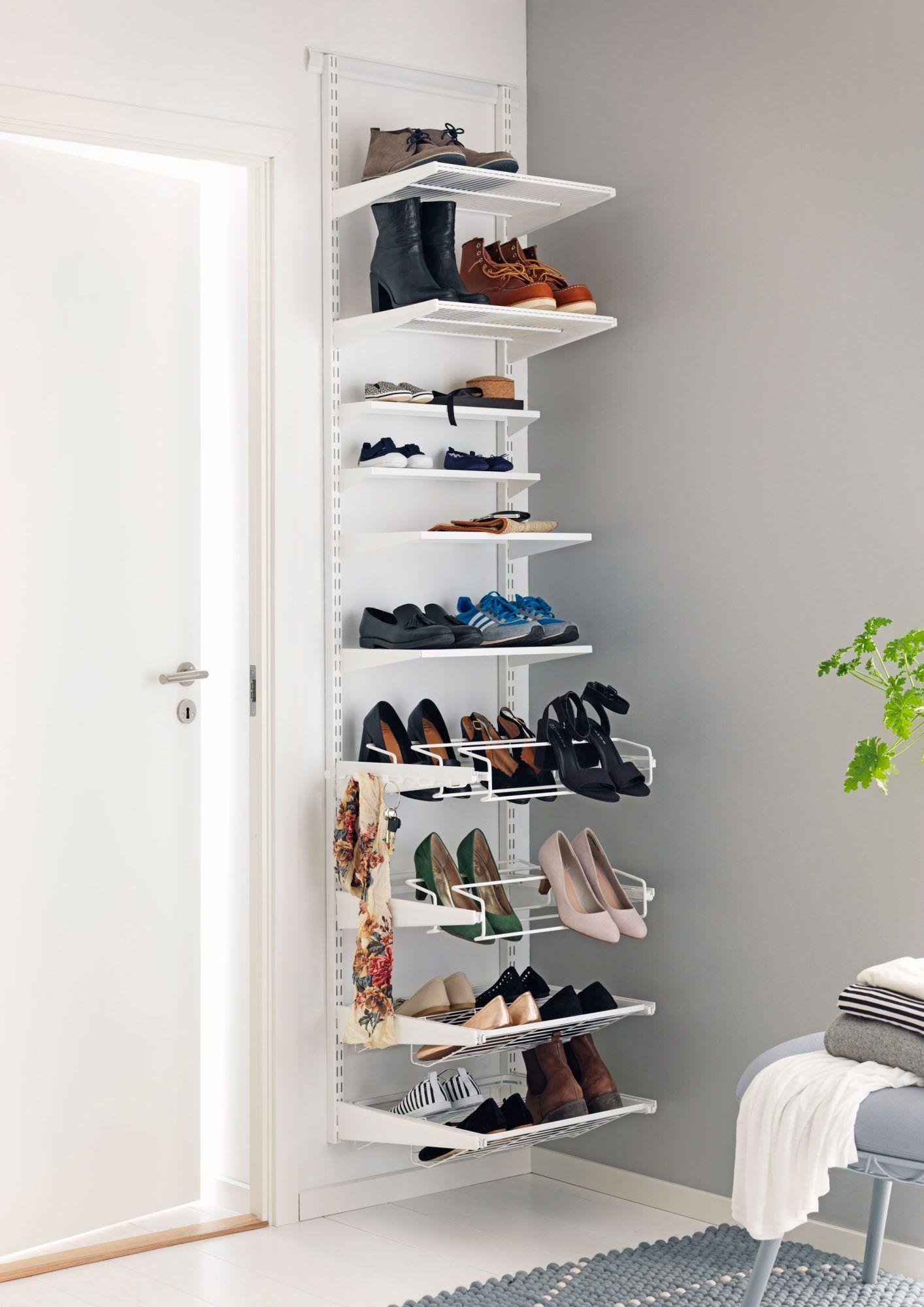 b5a30279e5e I følge Elfas Rydderapport 2016 har vi i snitt 12 par sko hver. Da er det  ikke…